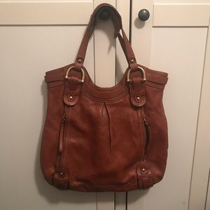Kooba brown leather tote